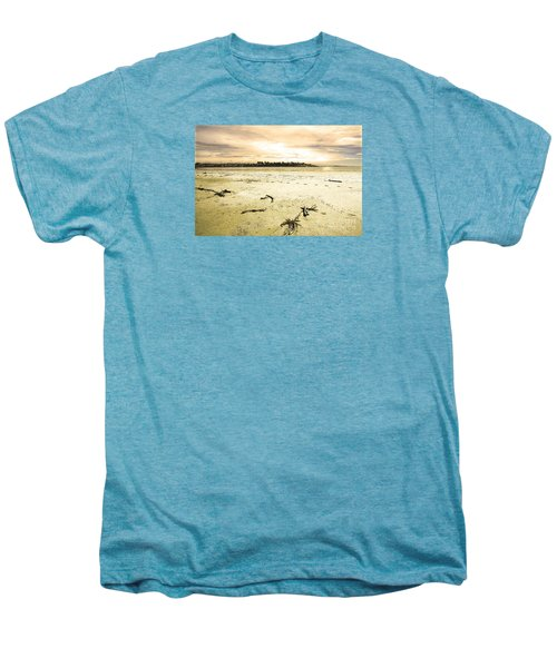 Men's Premium T-Shirt featuring the photograph At Caroline Bay Timaru New Zealand by Nareeta Martin