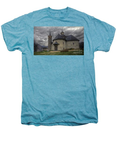 Baroque Church In Savoire France 6 Men's Premium T-Shirt