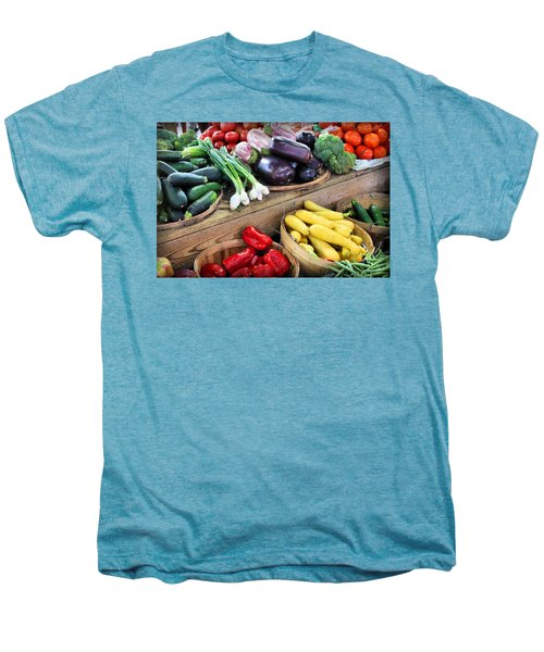 Farmers Market Summer Bounty Men's Premium T-Shirt by Kristin Elmquist