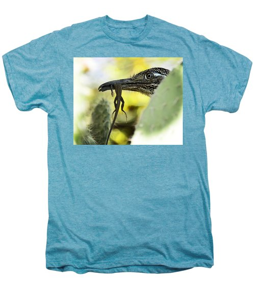 Lunch With A Roadrunner  Men's Premium T-Shirt