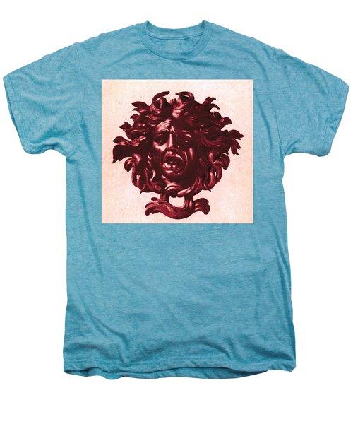 Medusa Head Men's Premium T-Shirt by Photo Researchers
