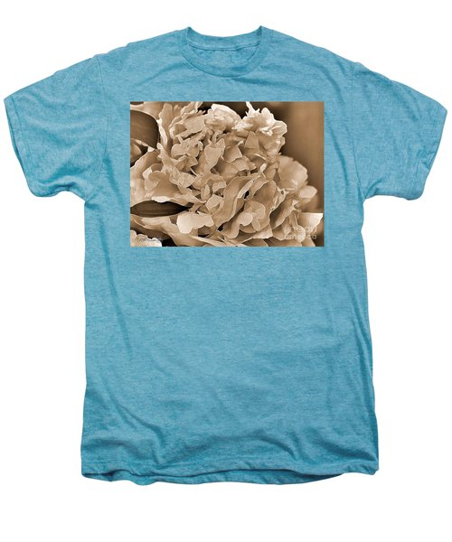 Peony Named Shirley Temple Men's Premium T-Shirt by J McCombie