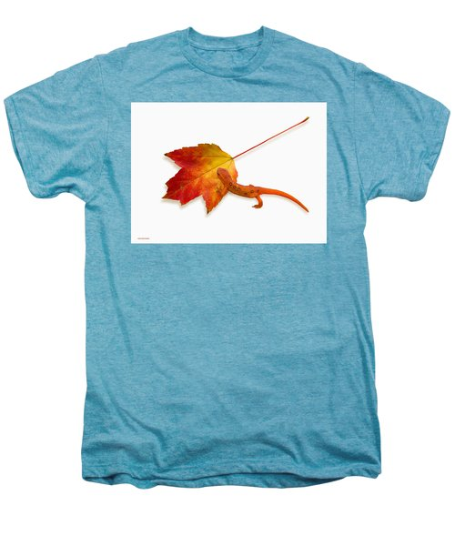 Red Spotted Newt Men's Premium T-Shirt by Ron Jones