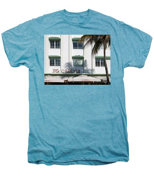 The Carlyle Hotel 2. Miami. Fl. Usa Men's Premium T-Shirt