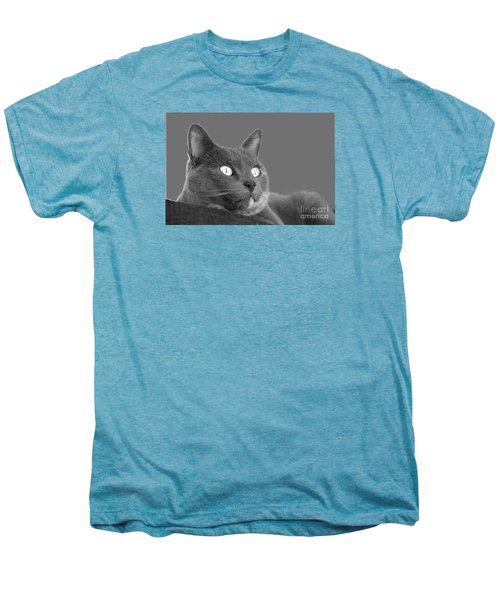 Men's Premium T-Shirt featuring the photograph The Eyes Have It by Nareeta Martin
