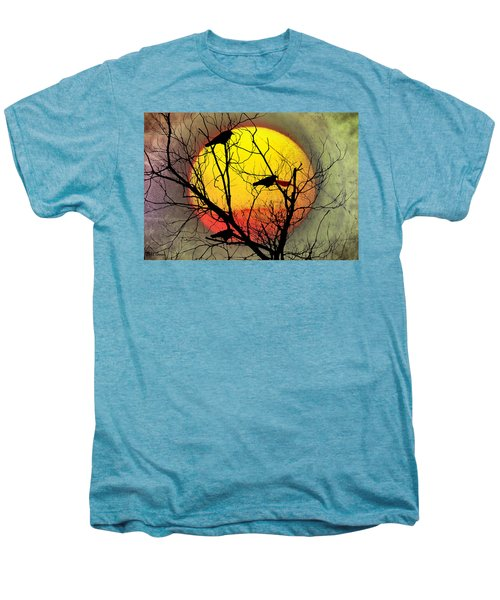 Three Blackbirds Men's Premium T-Shirt by Bill Cannon