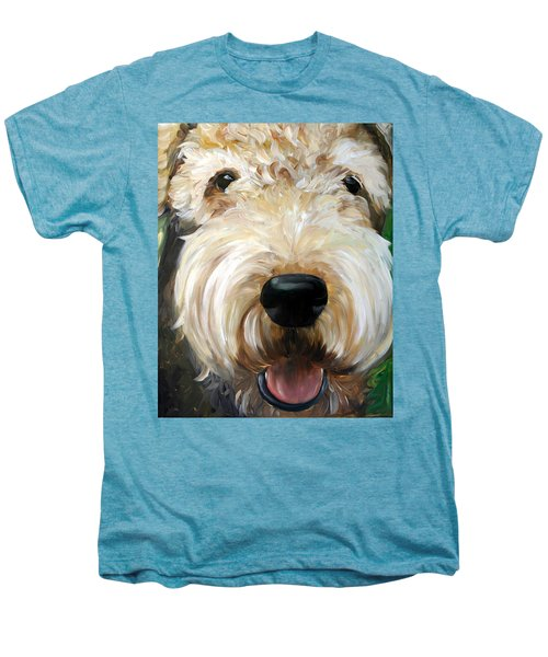 Up Close  Men's Premium T-Shirt by Mary Sparrow