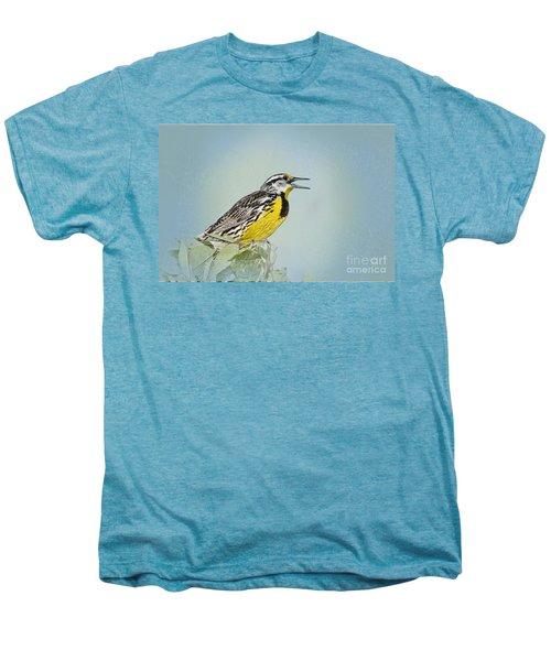 Western Meadowlark Men's Premium T-Shirt