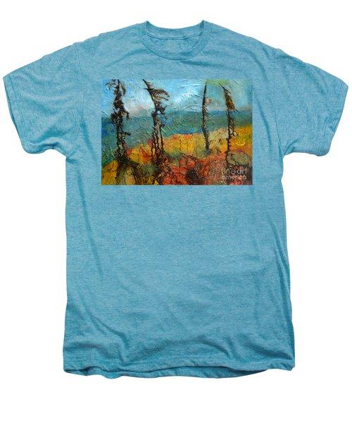 Windswept Pines Men's Premium T-Shirt