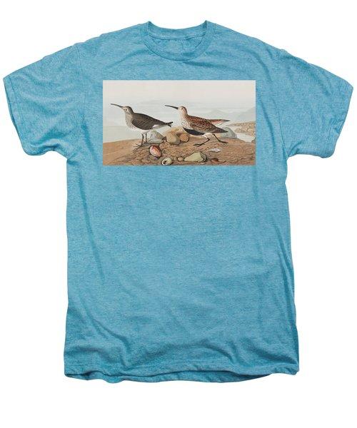 Red Backed Sandpiper Men's Premium T-Shirt