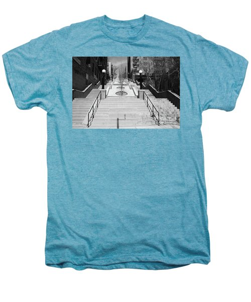 215th Street Stairs Men's Premium T-Shirt