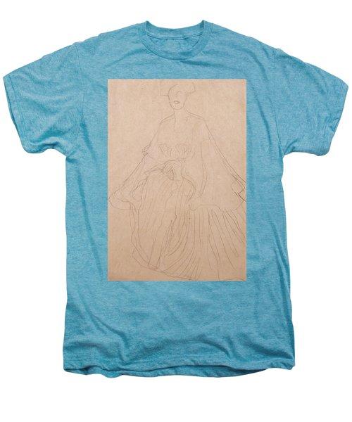 Adele Bloch Bauer Men's Premium T-Shirt by Gustav Klimt