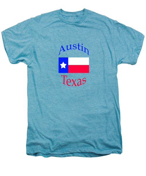 Austin Texas Men's Premium T-Shirt by Bill Owen