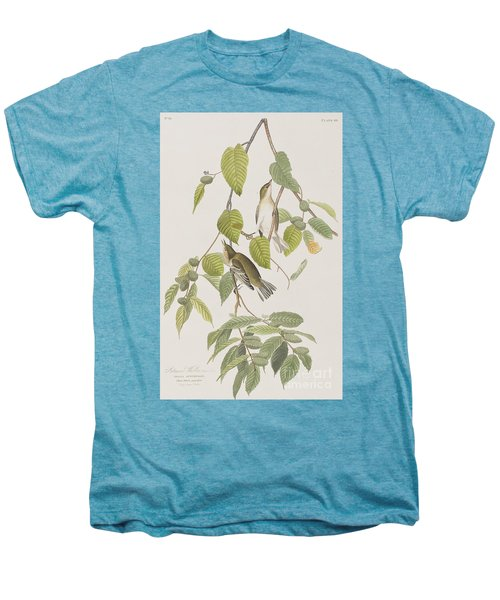Autumnal Warbler Men's Premium T-Shirt by John James Audubon