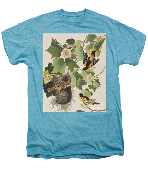 Baltimore Oriole Men's Premium T-Shirt by John James Audubon