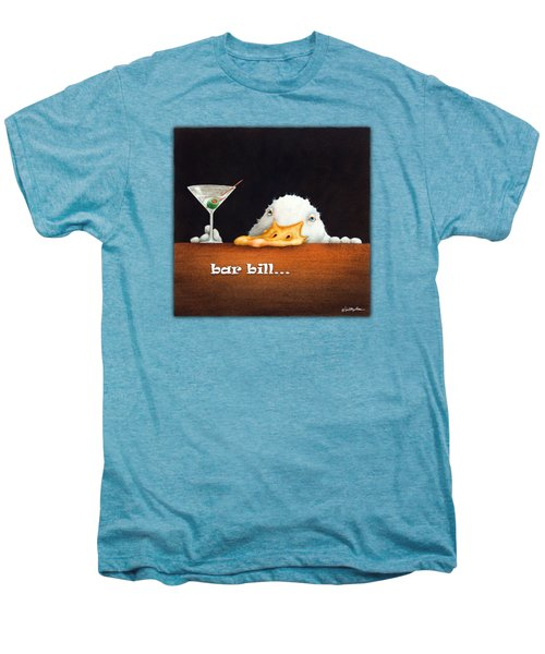 Bar Bill... Men's Premium T-Shirt by Will Bullas