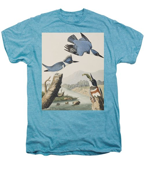 Belted Kingfisher Men's Premium T-Shirt