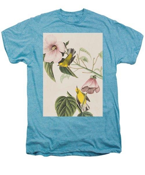 Blue-winged Yellow Warbler  Men's Premium T-Shirt