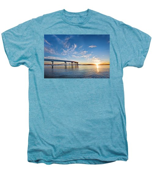 Bridge Sunrise Men's Premium T-Shirt