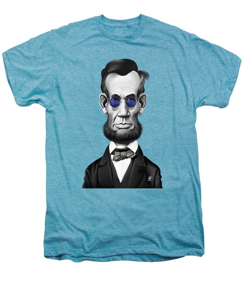 Celebrity Sunday - Abraham Lincoln Men's Premium T-Shirt by Rob Snow