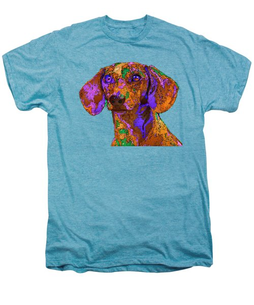 Chloe. Pet Series Men's Premium T-Shirt
