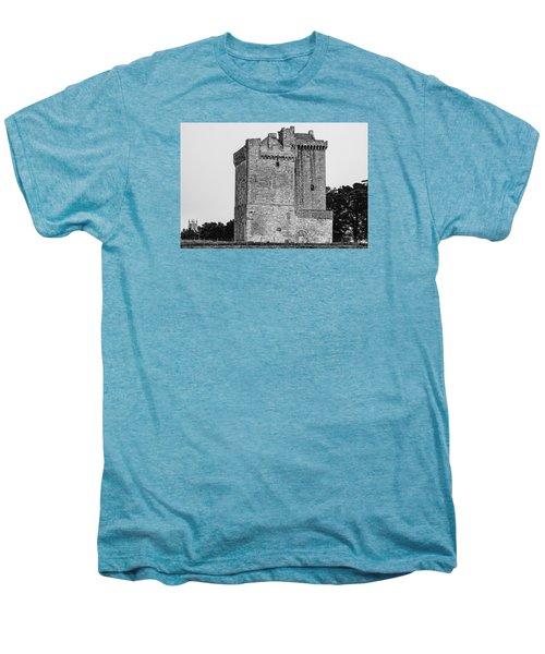 Clackmannan Tower Men's Premium T-Shirt by Jeremy Lavender Photography