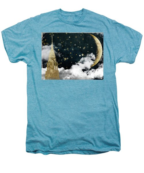 Cloud Cities New York Men's Premium T-Shirt