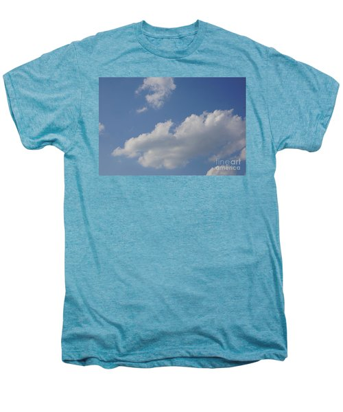Men's Premium T-Shirt featuring the photograph Clouds 15 by Rod Ismay