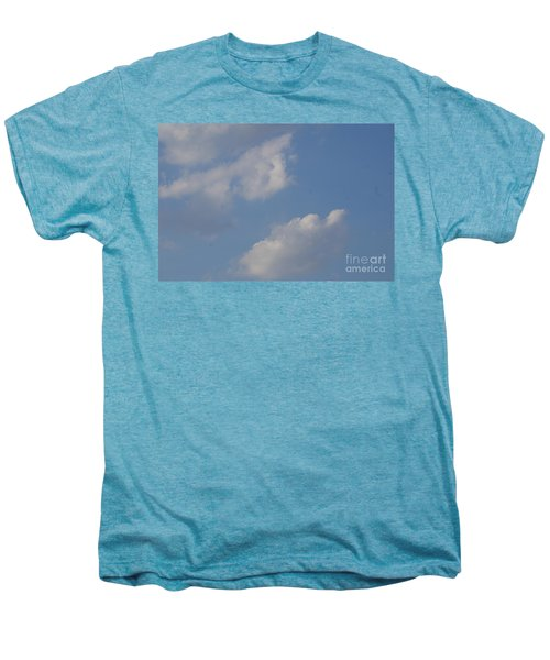 Men's Premium T-Shirt featuring the photograph Clouds 13 by Rod Ismay