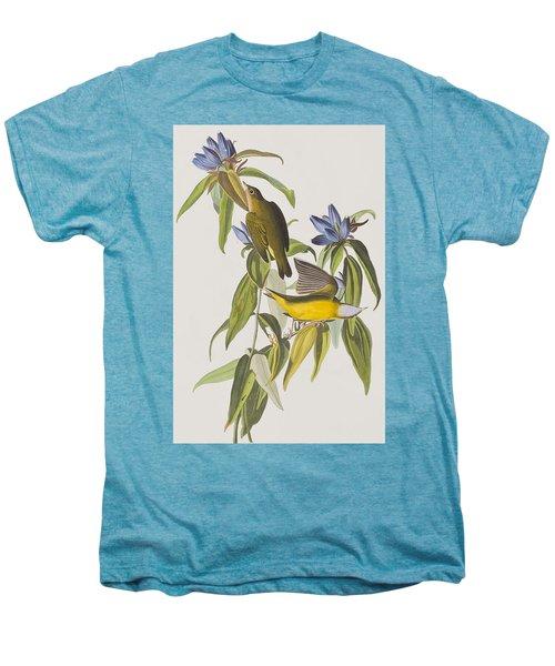 Connecticut Warbler Men's Premium T-Shirt by John James Audubon