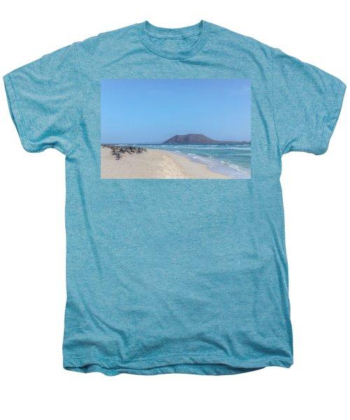 Corralejo - Fuerteventura Men's Premium T-Shirt by Joana Kruse
