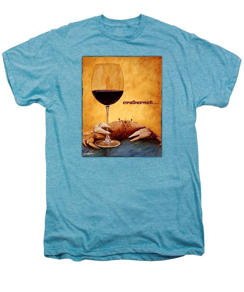 Crabernet... Men's Premium T-Shirt by Will Bullas