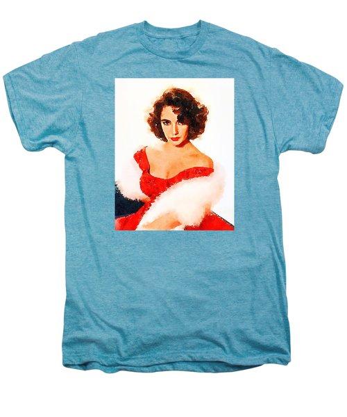 Elizabeth Taylor Men's Premium T-Shirt by John Springfield