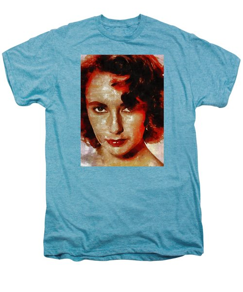 Elizabeth Taylor Men's Premium T-Shirt by Mary Bassett