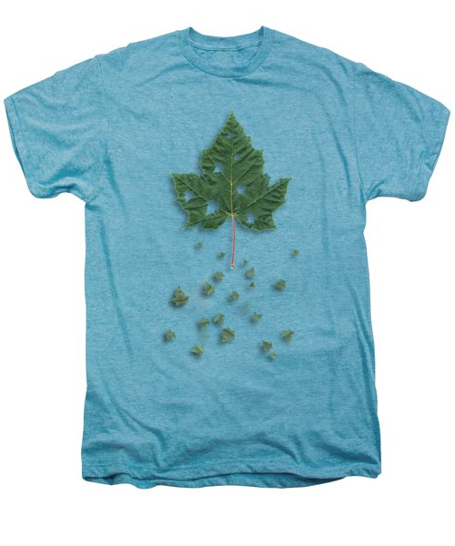 Fall Men's Premium T-Shirt by AugenWerk Susann Serfezi