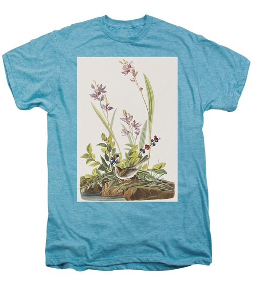 Field Sparrow Men's Premium T-Shirt by John James Audubon
