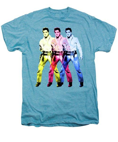 Flaming Star Men's Premium T-Shirt