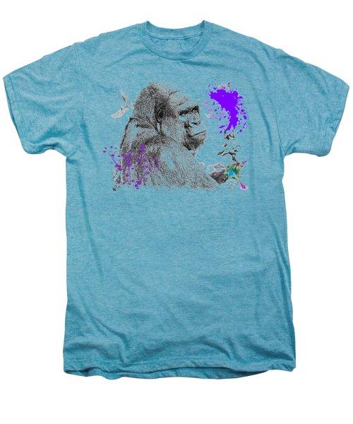 Gorilla Men's Premium T-Shirt by iMia dEsigN