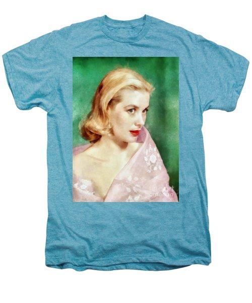 Grace Kelly By John Springfield Men's Premium T-Shirt