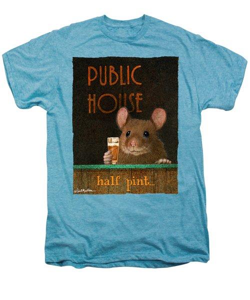 Half Pint... Men's Premium T-Shirt by Will Bullas