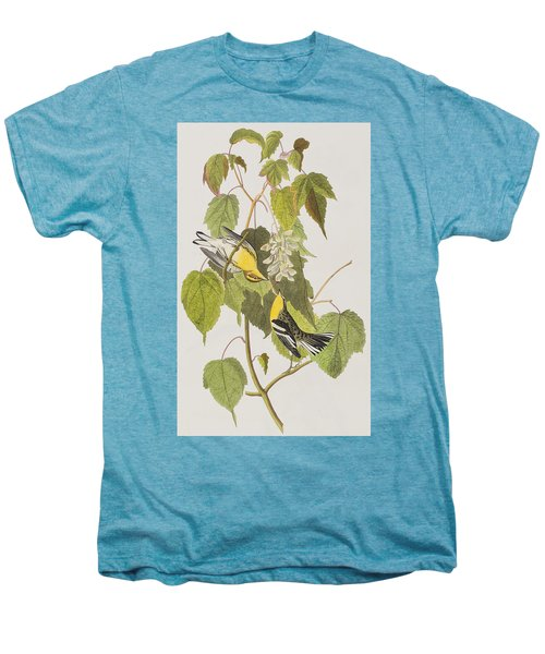 Hemlock Warbler Men's Premium T-Shirt by John James Audubon
