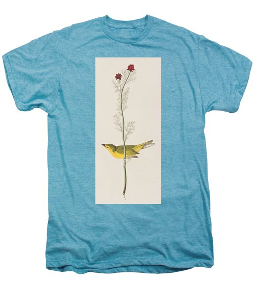 Hooded Warbler Men's Premium T-Shirt by John James Audubon