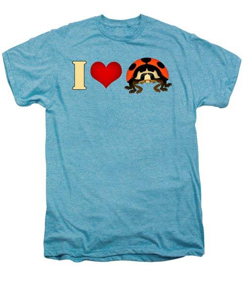 I Love Ladybugs Men's Premium T-Shirt
