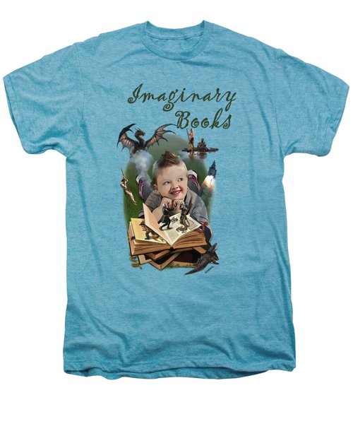 Imaginary Books Men's Premium T-Shirt by Joseph Juvenal
