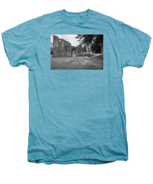 Inchmahome Priory Men's Premium T-Shirt by Jeremy Lavender Photography