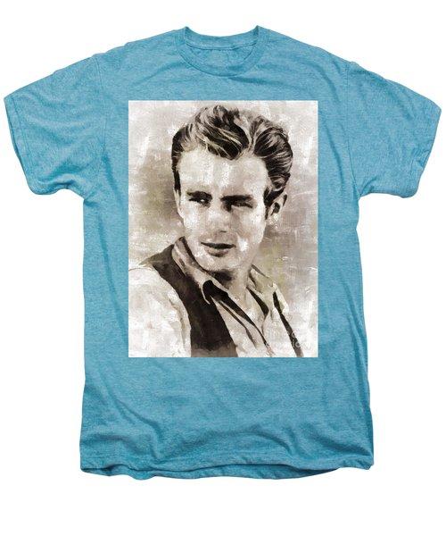 James Dean Hollywood Legend Men's Premium T-Shirt