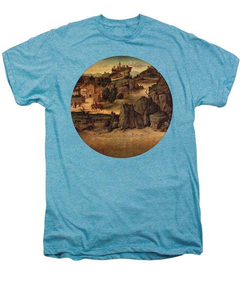 Landscape With Castles Men's Premium T-Shirt