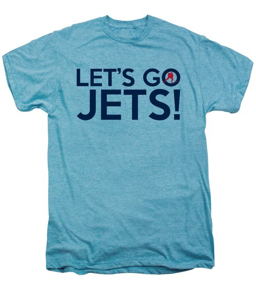 Let's Go Jets Men's Premium T-Shirt