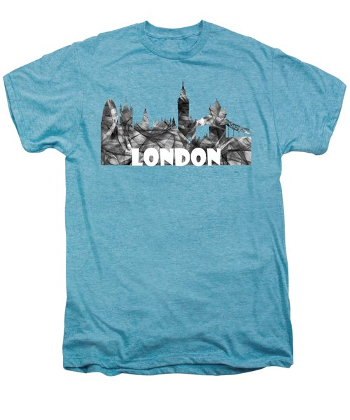 London England Skyline Men's Premium T-Shirt
