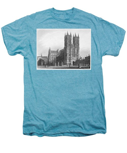 London: Westminster Abbey Men's Premium T-Shirt by Granger